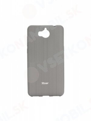 ROAR COLORFUL TPU Obal Huawei Y6 2017 šedý
