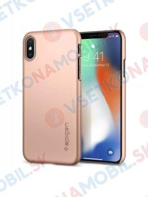 SPIGEN THIN FIT Ultratenký kryt Apple iPhone X / XS blush gold