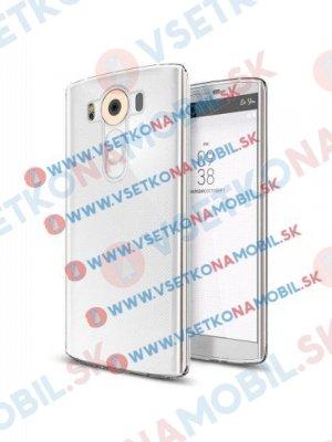 Silikonový obal LG V10 průhledný