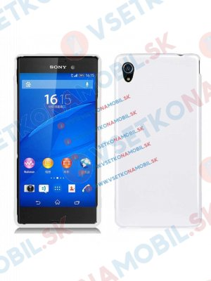 Silikonový obal Sony Xperia M4 Aqua bílý