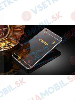 Ochranný zrcadlový obal Lenovo A7000 (K3 Note) černý