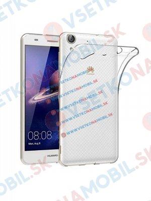 Silikonový kryt Huawei Honor Y6 II průhledný