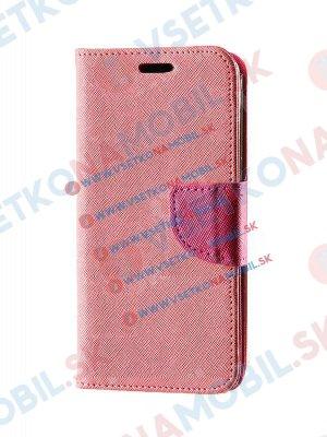 FANCY Knížkové pouzdro Sony Xperia M4 Aqua růžové