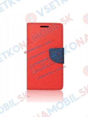 FANCY Peňaženkový obal LG V10 červený