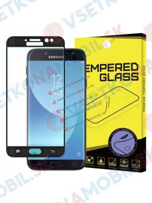 3D Tvrzené (temperované) sklo Samsung Galaxy J7 2017 (J730) černé