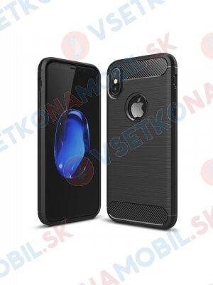FLEXI TPU Ochranný kryt Apple iPhone XS Max černý