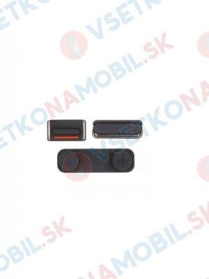 Set tlačítek Apple iPhone 5S - černé