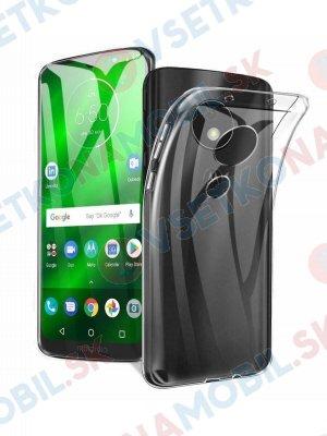 Silikonový průhledný obal Motorola Moto G7