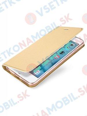 DUX flipové pouzdro Apple iPhone 6 Plus / 6S Plus zlaté
