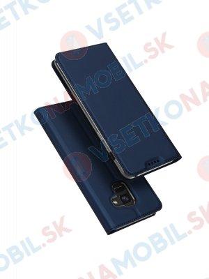 DUX Knížkové pouzdro Samsung Galaxy A8 Plus 2018 (A730) modré