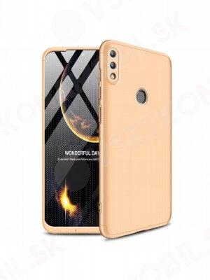 360 ° Ochranný obal Huawei P Smart 2019 zlatý