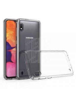 SHOCK Extra odolný obal Samsung Galaxy A10 průhledný