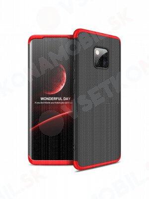 360 ° ochranný obal Huawei Mate 20 Pro černý-červený