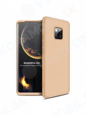 360 ° ochranný obal Huawei Mate 20 Pro zlatý
