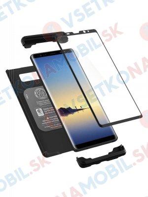SPIGEN THIN FIT 360 ° obal + 9H Ochranné sklo Samsung Galaxy Note 8 černý