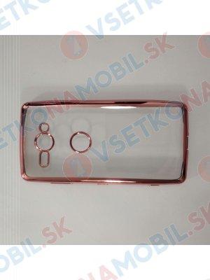 METALLIC Silikonový kryt Sony Xperia XZ2 Compact růžový