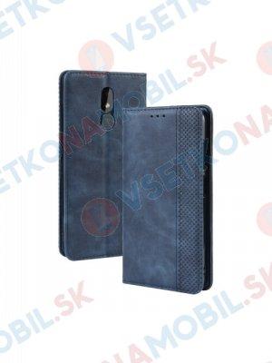 BUSINESS Peňaženkový obal Nokia 3.2 modrý