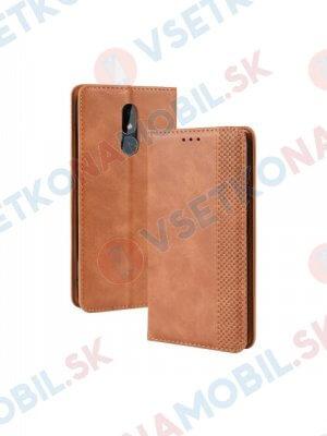 BUSINESS Peňaženkový obal Nokia 3.2 hnědý
