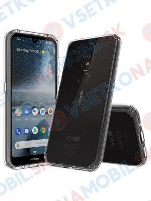 SHOCK Extra odolný kryt Nokia 4.2 priehľadný