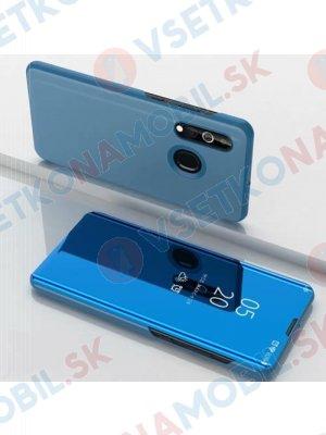 MIRROR zaklapovací kryt Samsung Galaxy A20e modrý