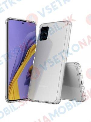 SHOCK Extra odolný kryt Samsung Galaxy A51 průhledný