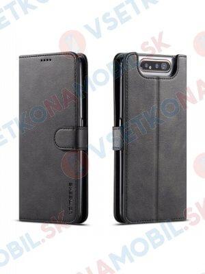 IMEEKE  Peňaženkový obal Samsung Galaxy A80 / A90  čierny