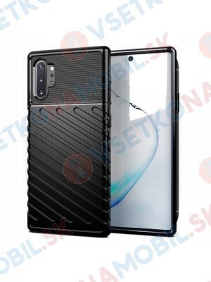 THUNDER Kryt Samsung Galaxy Note 10 Plus  čierny