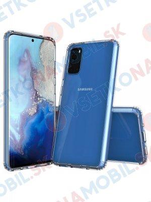 SHOCK Extra odolný kryt Samsung Galaxy S20  priehľadný
