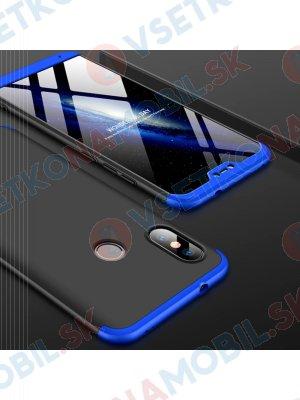 360 ° Ochranný kryt Xiaomi Mi A2 Lite černo-modrý