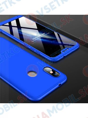 360 ° Ochranný kryt Xiaomi Mi A2 Lite modrý