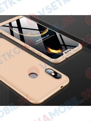 360 ° Ochranný kryt Xiaomi Mi A2 Lite zlatý