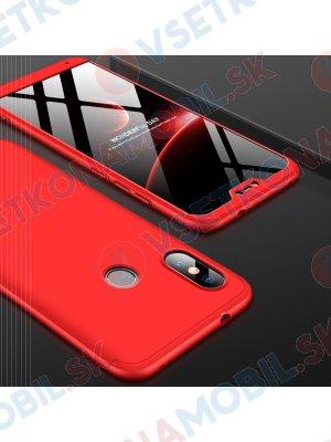 360 ° Ochranný kryt Xiaomi Mi A2 Lite červený