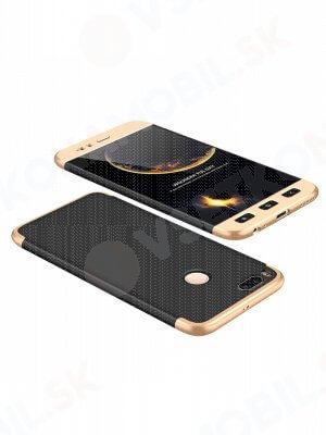 360 ° Ochranný obal Xiaomi Mi 5X / A1 černý (zlatý)