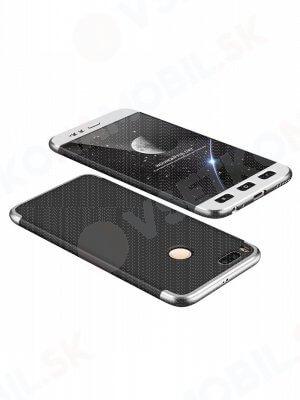 360 ° Ochranný obal Xiaomi Mi 5X / A1 černý (stříbrný)