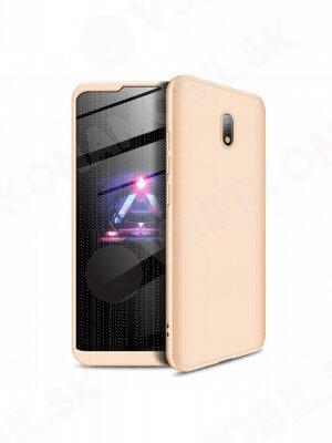 360 ° Ochranný obal Xiaomi Redmi 8A zlatý