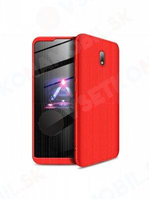 360 ° Ochranný obal Xiaomi Redmi 8A červený