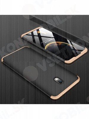 360 ° Ochranný obal Xiaomi Redmi 8A černý-zlatý