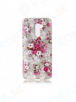 ART TPU ochranný obal Xiaomi Pocophone F1 FLOWERS