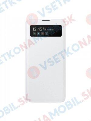 SAMSUNG S-VIEW Peňaženkové puzdro Samsung Galaxy A51 biele