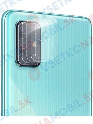 4x Tvrdené sklo pre fotoaparát Samsung Galaxy A71