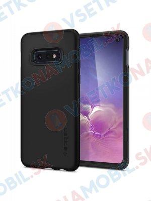 SPIGEN THIN FIT 360 ° obal + 9H Ochranné sklo Samsung Galaxy S10e černý