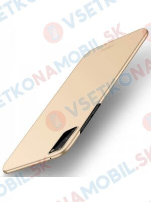 MOFI Ultratenký obal Samsung Galaxy S20 zlatý