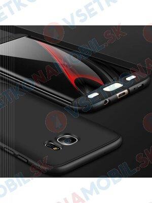 360 ° Ochranný kryt Samsung Galaxy S7 Edge černý