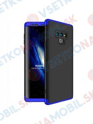 360 ° Ochranný kryt Samsung Galaxy Note 9 černo-modrý