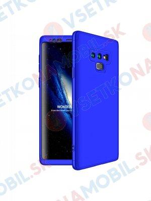 360 ° Ochranný kryt Samsung Galaxy Note 9 modrý