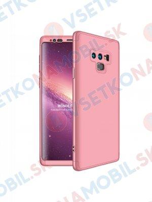 360 ° Ochranný kryt Samsung Galaxy Note 9 růžový