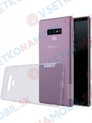 NILLKIN NATURE obal Samsung Galaxy Note 9 šedý