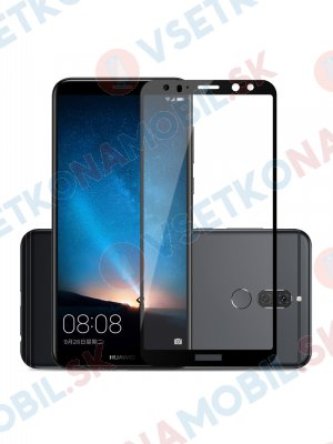 3D Temperované sklo Huawei Mate 10 Lite černé