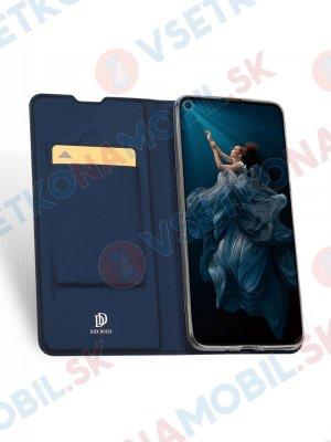 DUX Peňaženkový obal Huawei Nova 5T modrý