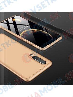 360 ° Ochranný obal Huawei P30 zlatý